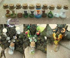 Kawaii animals in a jar polymer clay | Flickr - Photo Sharing!