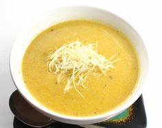 Creamy and delicious, this smooth squash soup is among the first of the autumn soups, enjoying the last of the summer squash harvest.