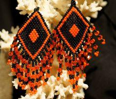 Diamonds Style Beaded American Native Earrings. door Trendydeals