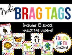 Looking for colorful, fun brag tags both you and your students will love? The…