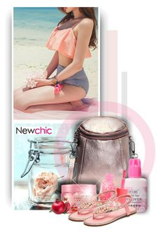 """""""Newchic - Beauty"""" by christiana40 ❤ liked on Polyvore featuring beauty"""