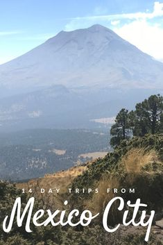 Did you know the second and third tallest mountains in Mexico are only an hour from Mexico City? One of them is even an active volcano still belching smoke! Learn how to visit them - and 13 other off-the-beaten-path destinations - in this guide to my 14 favorite day trips from Mexico City! #Mexico #MexicoTravel #MexicoCity #CDMX Weekend Trips, Day Trips, Active Volcano, Ancient Ruins, Best Hikes, Night City, Puerto Vallarta, Mexico Travel, Latin America