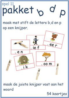 B, d en p pakket - Digibord Onderbouw Spelling, Homeschool, Language, Teaching, Writing, Logos, Dyslexia, Projects To Try, Speech And Language