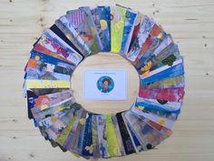 MusenKuss Orakelkarten Set (50-teilig) - MusenKuss Intuition, Altar, Muse, Gratis Download, Hand Fan, Paper, Illustrated Maps, Teaching Materials, Nice Asses
