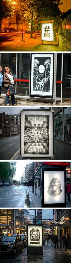 """Watch """"Brandals"""" Replace 365 Ads With 365 Pieces Of Art Across The U.K."""
