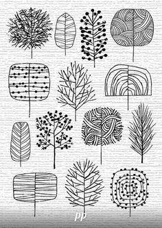 best ideas for drawing ideas zentangle doodles Art Plastique, Zentangles, Zentangle Patterns, Doodle Patterns, Easy Zentangle, Doodle Art, Doodle Trees, How To Doodle, Art Lessons