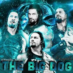 Embedded Wwe Superstar Roman Reigns, Wwe Roman Reigns, The Shield Reunite, Roman Reigns Wrestlemania, Wwe Birthday, Roman Regins, Tiger Wallpaper, Love Cartoon Couple, My Champion