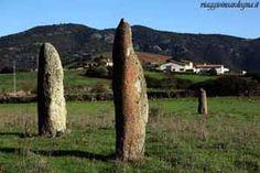 Asuni - menhirs Corongiu