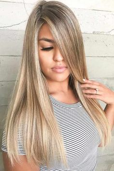 See our collection of ideas for dark blonde hair color which is drop dead popula. - The Right Hair Styles Sandy Blonde Hair, Dark Blonde Hair Color, Cool Blonde Hair, Brown Blonde Hair, Hair Color And Cut, Cool Hair Color, Dark Blonde Hair With Highlights, Light Blonde, Going Blonde