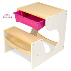 Love the design of this little desk from Rosenberry Rooms !