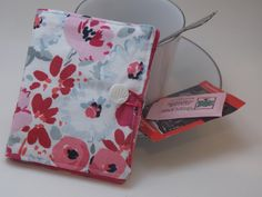 OMG!!!  Still have time to get the perfect gift for a special teacher!!!  Abstract rose watercolor floral tea wallet by MyPetitBisous on Etsy