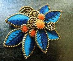 By woolly fabulous Odile Gova.  NICE color and rhythm