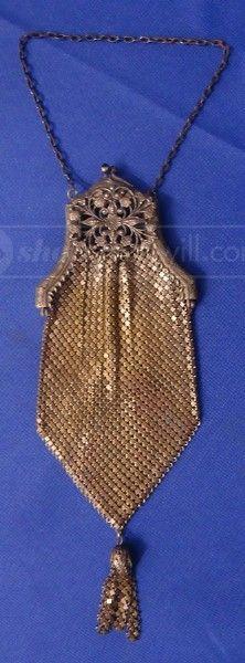 shopgoodwill.com: Antique Metal Mesh Clutch Purse Sold for $121