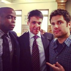 """Ralph Macchio: """"Another round of shenanigans with the boys! Was indeed """"mad fun"""" on Psych!"""""""