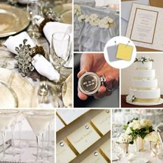 Gold & Silver Cool Colour Combos