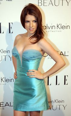 Anna Kendrick at the ELLE's Annual Women, Hollywood (October Beautiful Celebrities, Beautiful Actresses, Anna Kendrick Pictures, Anne Kendrick, Non Blondes, Glamour, Woman Crush, Girl Pictures, Pictures Images