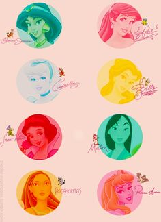 Disney Princesses - Disney Princess Fan Art (31392782) - Fanpop