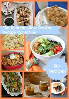 The Ultimate Slow Cooker Recipe Collection- 80+ Crock Pot recipes from your fave food bloggers! via thefrugalfoodiemama.com #slowcooker #crockpot #recipes