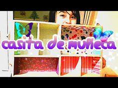 Como hacer CASITA DE MUÑECAS CON CAJAS DE ZAPATOS PARTE 1| DIY HOUSE DOL...
