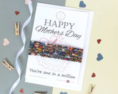 Happy Mothers Day gift card which includes a lovely quote and a beautiful Liberty of London bracelet. Perfect for gifting to a loved one or the special person in your life, this gift is sure to be very well received. The Liberty of London bracelet will arrive beautifully wrapped round the card and includes a matching envelope, ready for gifting. A truly unique and beautifully presented gift that will bring joy and smiles to whoever you gift it to, even yourself!