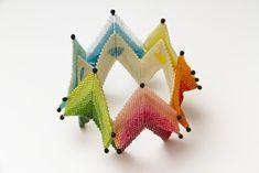 LaGrif Bijoux Geometrie e altre creazioni. Inspired by Contemporary Geometric Beadwork. Design LaGrif. Handmade by LaGrif