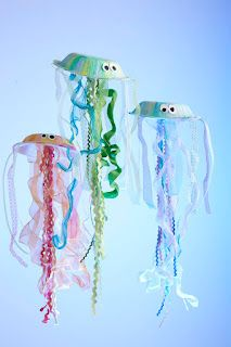 Using Creativity for Good: help environment/recycle  (paperbowl jellyfish)