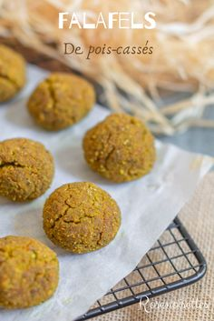 Discover recipes, home ideas, style inspiration and other ideas to try. Falafels, Sin Gluten, Gluten Free, Dairy Free, Delicious Vegan Recipes, Vegetarian Recipes, Healthy Recipes, My Recipes, Baking Recipes