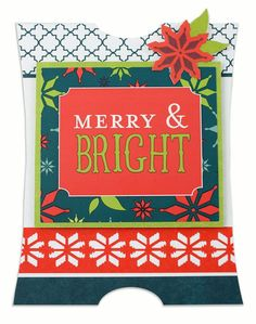Merry & Bright Nordic Card Project Idea from Creative Memories - using Limited Edition products available through December 2012.
