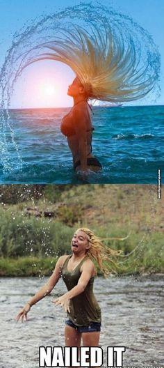 Perfectly Reenacted Beach Shot