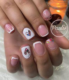 Cute Acrylic Nails, Nail Decorations, Manicures, Nail Colors, Nail Art Designs, Beauty, Work Nails, Iron, Nail Salons