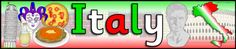 Italy display banner (SB3241) - SparkleBox