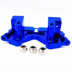 Alloy Front Lower Arm Mount for Traxxas Ford Raptor F150, 1:10, Blue