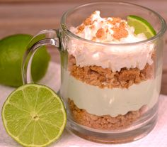 When I say this No Bake Key Lime Pie is good…it doesn't do it justice. It is amazing. My family loved it, too. In the time it took me to write this post, they were ALL GONE. I only got one bite! I guess that is just a good excuse to make more this week. …