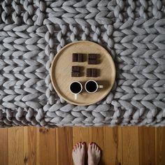 dodatki - koce, pościel, pledy, narzuty-Narzuta TOKIO, 100% wełna filcowana, 240x240 cm