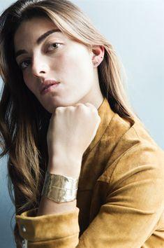 Venus By Maria Tash, Or, Designers, Bracelet, Leather, Fashion, Dinghy, Moda, Wristlets