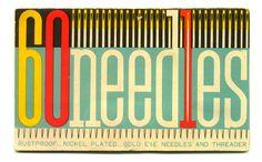 60 needles.
