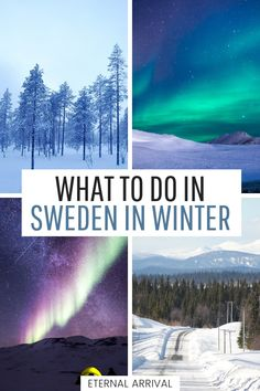 Thinking Of A Winter Trip To Sweden? Here Are 10 Reasons You Can't Miss Sweden In Winter, Ideas For Wintry Things To Do In Sweden, Tips For Visiting Stockholm In Winter And Swedish Lapland, Northern Lights Spotting Travel Tips, And Finland Travel, Norway Travel, Sweeden Travel, Visit Stockholm, Stockholm Winter, Visit Sweden, See The Northern Lights, European Destination, Winter Travel
