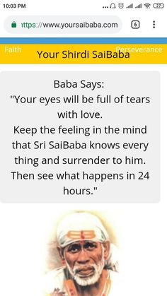 Spiritual Religion, Spiritual Quotes, Positive Quotes, Sai Baba Pictures, God Pictures, Sai Baba Miracles, Shirdi Sai Baba Wallpapers, Sanskrit Quotes, Sai Baba Quotes