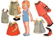 Little Girl Paper Doll