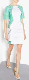 Richard Nicoll Illusion Dress