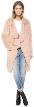 Elizabeth and james Kimono Elijah Fur Coat on shopstyle.com
