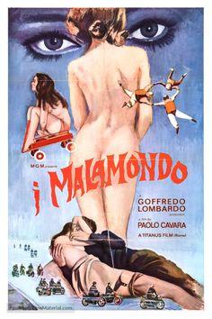 I Malamondo poster (1964) a film by Paolo Cavara