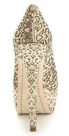 laser cut shoes - art