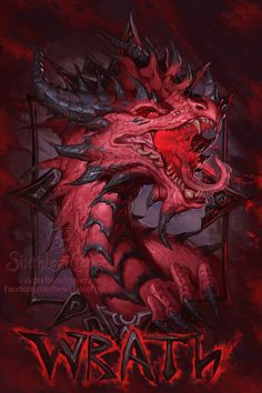The Seven Sins - Wrath by =The-SixthLeafClover on deviantART