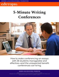 Writing teachers know that students need to write a lot and get meaningful feedback in order to improve their writing. I recently took the plunge and did writing conferences with my students—and it had a huge impact on my classroom and my students' learning.