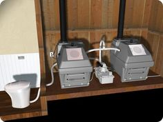 Envirolet FlushSmart VF | Vacuum Flush Composting Toilet System. Alternate units to allow ample curing?