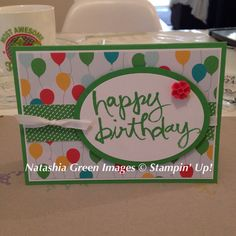 Watercolor Words - Stampin' Up!