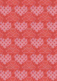 Romantic Valentine A4 Paper 6