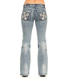 Loving this Lightning Sarah Bootcut Jeans - Women on #zulily! #zulilyfinds
