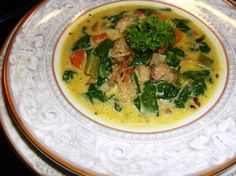 Quick and Easy Curried Turkey Soup. Photo by mersaydees